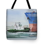 Tugboat Leo Foss Tote Bag