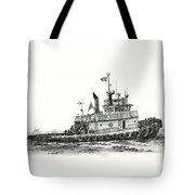 Tugboat Shelley Foss Tote Bag