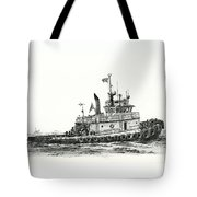 Tugboat Shelley Foss Tote Bag