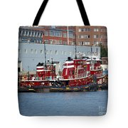 Tugs At Rest Tote Bag