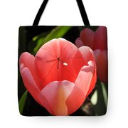 Tulip And The Crane Fly Tote Bag