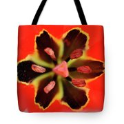 Tulip At Amatzia Forest - 4 Tote Bag