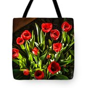 Tulip Beauties Tote Bag