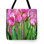 Tulip Bloomies 1 - Pink Tote Bag