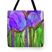 Tulip Bloomies 4 - Purple Tote Bag