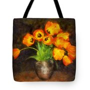 Tulip Bouquet Tote Bag