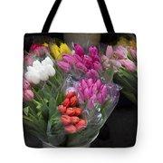 Tulip Bouquets Tote Bag