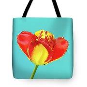 Tulip Burst Tote Bag