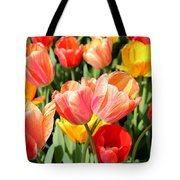 Tulip Crossing Tote Bag