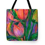 Tulip Edge Tote Bag