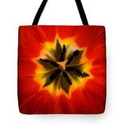 Tulip Explosion Kaleidoscope Tote Bag