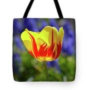 Tulip Flame Tote Bag