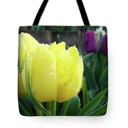 Tulip Flowers Artwork Tulips Art Prints 10 Floral Art Gardens Baslee Troutman Tote Bag