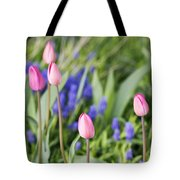 Tulip Garden Tote Bag