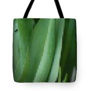 Tulip Greens Tote Bag