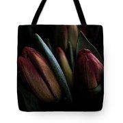 Tulip Grunge Tote Bag