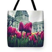 Tulip In Bloom Tote Bag