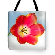 Tulip In The Sky Tote Bag