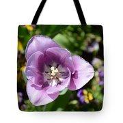 Tulip Lavender Tote Bag