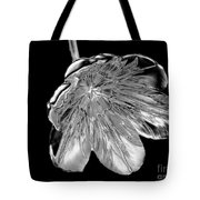 Tulip Liquid Metal Tote Bag