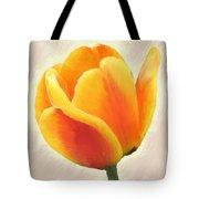 Tulip Orange Tote Bag