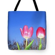 Tulip Panorama Tote Bag