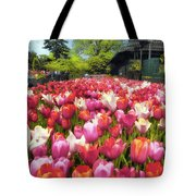 Tulip Parade Tote Bag