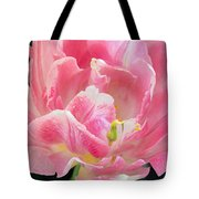 Tulip Peppermint Pink Tote Bag