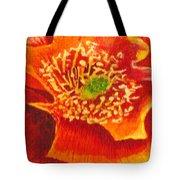 Tulip Prickly Pear Tote Bag