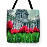 Tulip Row Tote Bag