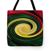 Tulip Swirl Tote Bag