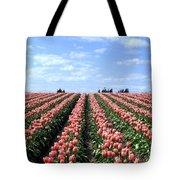 Tulip Town 12 Tote Bag