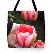 Tulip Town 15 Tote Bag