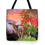 Tulip Town 19 Tote Bag