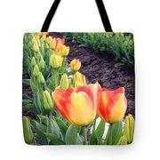 Tulip Town 6 Tote Bag