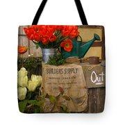 Tulip Town Tote Bag