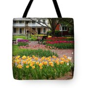 Tulips Abound Tote Bag