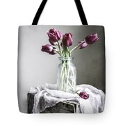 Tulips And Light Tote Bag