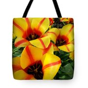 Tulips By The Artist Tote Bag