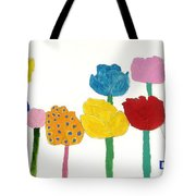 Tulips  Tote Bag by Don Larison