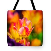 Tulips Enchanting 15 Tote Bag