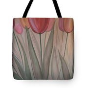 Tulips For Carol Tote Bag