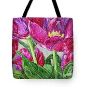 Tulips From A Friend Tote Bag