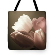 Tulips Glow Tote Bag
