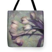 Tulips Going West Tote Bag