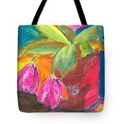 Tulips In Can Tote Bag