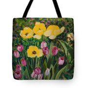 Tulips In The Capitol 2 Tote Bag