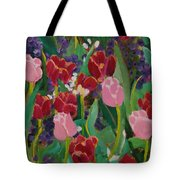 Tulips In The Capitol Tote Bag