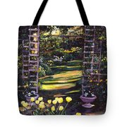 Tulips Of Gold Tote Bag