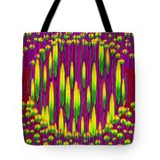 Tulips On Fire Tote Bag